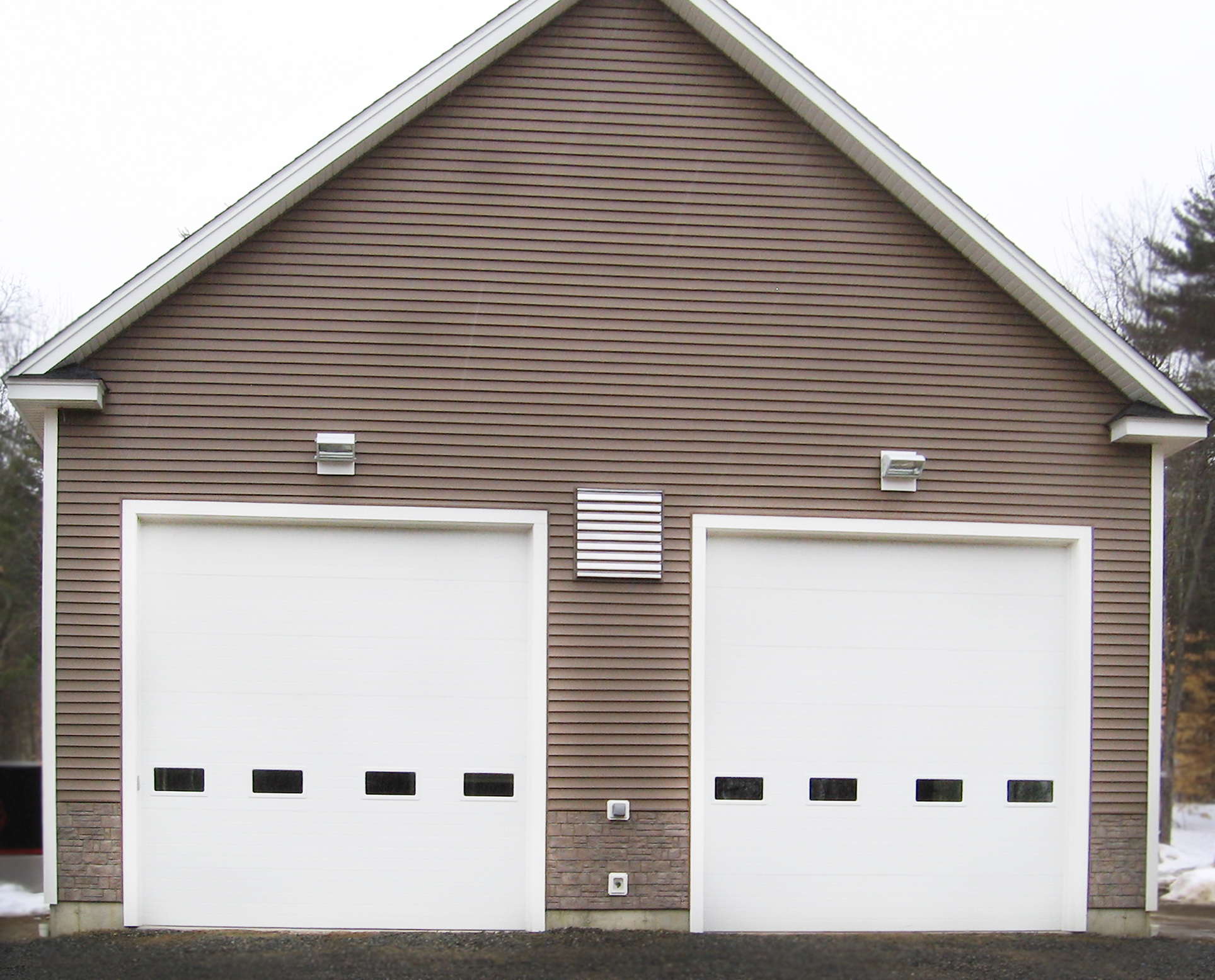 Garage door gallery dover portsmouth rochester nh for 2 door garage door